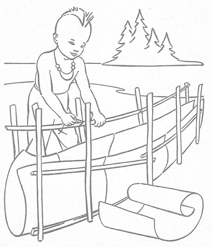 cowboy and indian coloring pages - photo#29