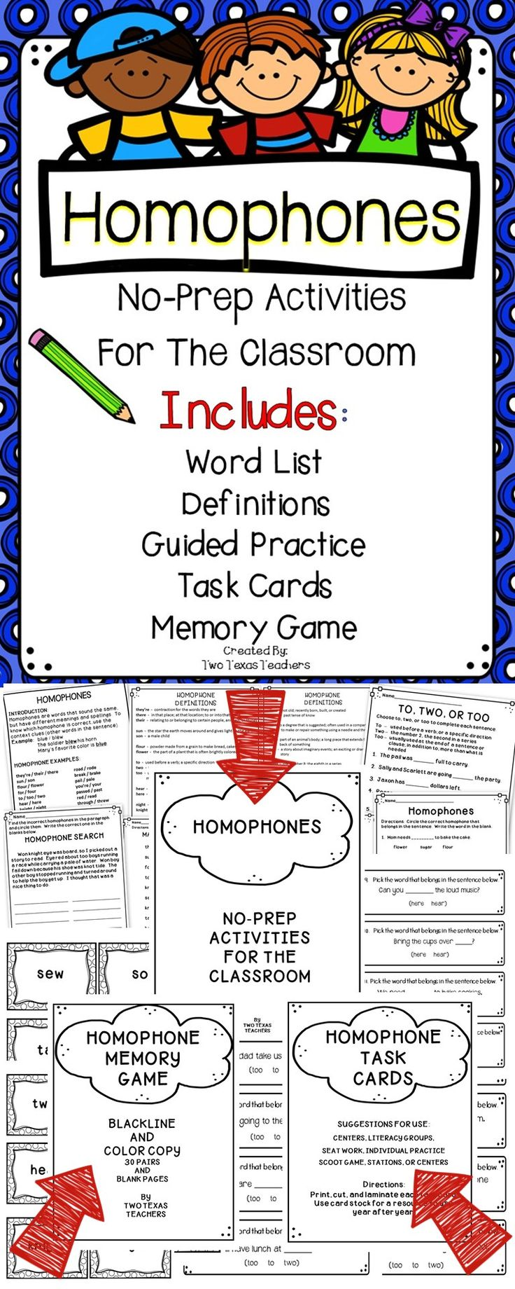 Worksheet Homophone Matching Game 1000 ideas about homophones ks2 on pinterest to too two this homophone resource book includes no prep activities task cards and a matching game introduction guided practice an