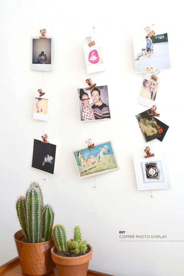 Modern DIY Wall Art Ideas and Crafts |http://diyready.com/diy-wall-art-you-can-make-in-under-an-hour/