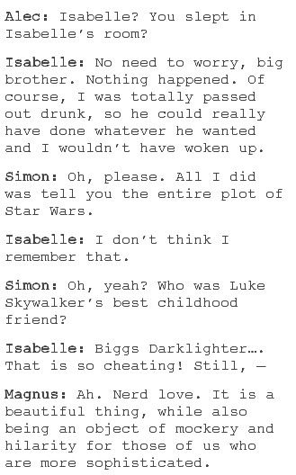 Simon and Izzy ❤️ I loved this part