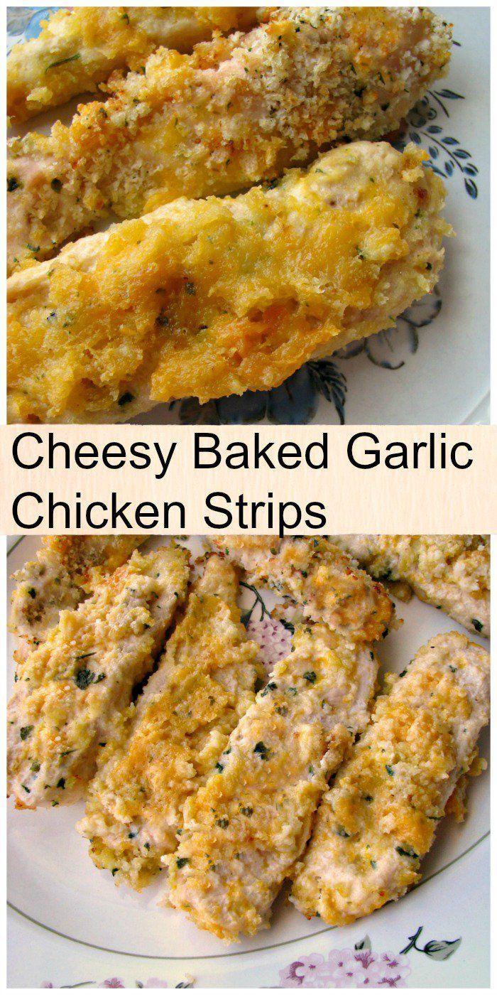 Garlic chicken fingers recipe