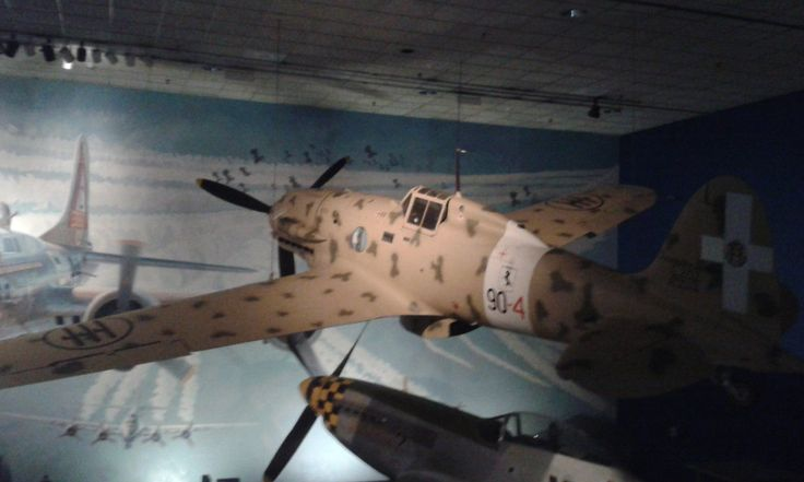 """Also known as the Folgore (Italian for """"thunderbolt""""). This was one of the main fighters flown by the Italian air force during World War II.Macchi aircraft designed by Mario Castoldi received..."""