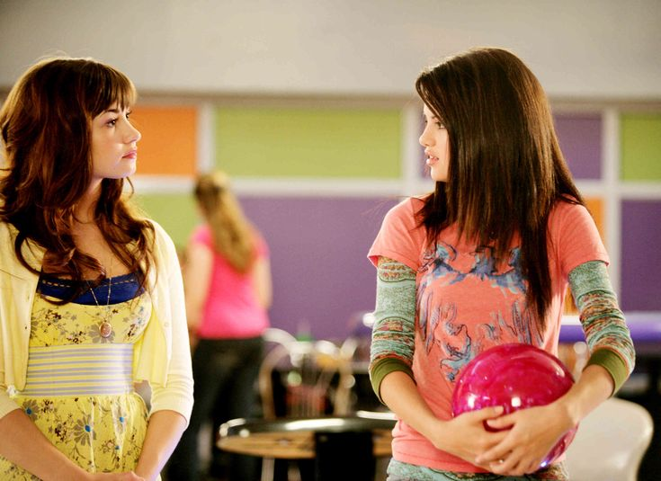 Selena Gomez as Carter Mason, in Princess Protection Program.
