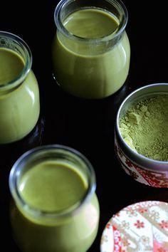 Panna cotta au lait de coco et thé matcha | Cuisine en Scène, le blog cuisine de Lucie Barthélémy - CotéMaison.fr