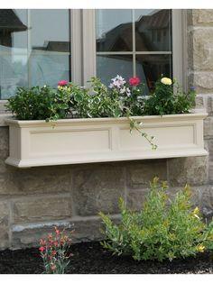 Window Box - Fairfield Self Watering Window Flower Boxes