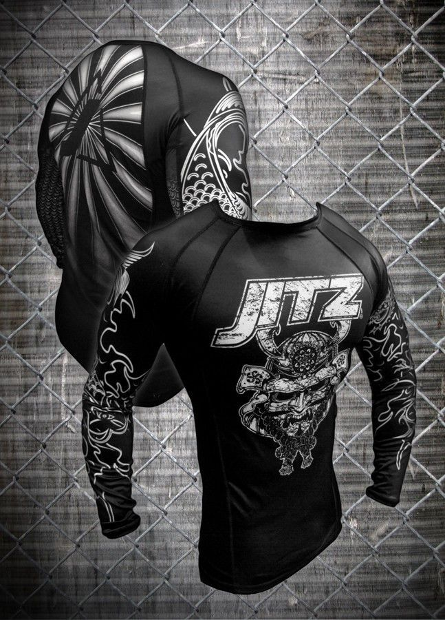 JITZ Samurai MMA/JiuJitsu Rashguard NOW $8! (MSRP $60) | Sporting Goods, Boxing, Martial Arts & MMA, Clothing, Shoes & Accessories | eBay!