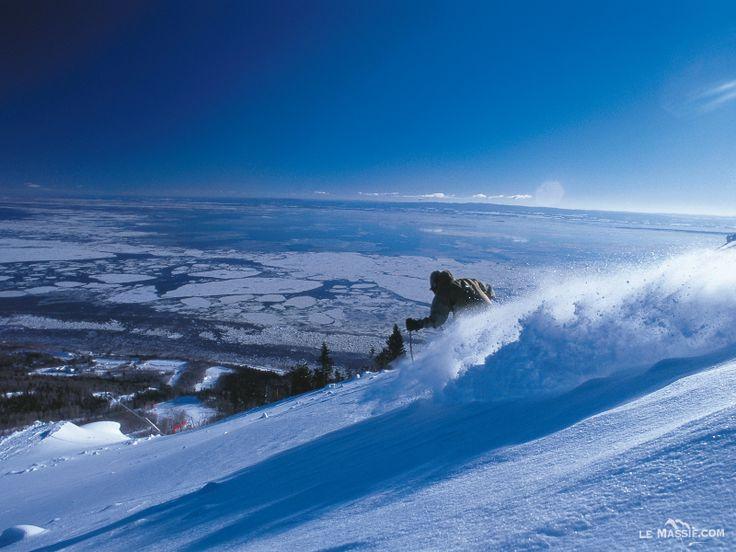 #Piste #Ski #Alpin #LeMassif #Qc