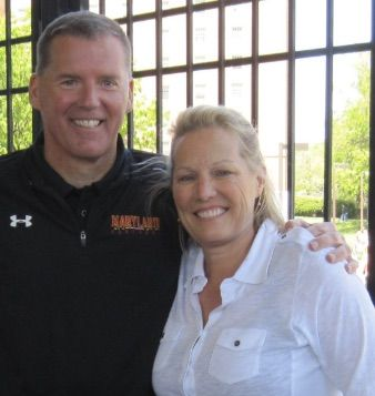 Eileen Edsall wife of Randy Edsall current head coach at the University of Connecticut director of football research-special projects for the Detroit Lions
