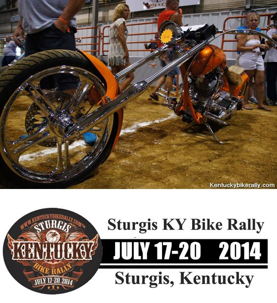 Custom chopper   GOING on NOW 2014 Kentucky Bike Rally/Little Sturgis Rally---JULY 17 to 20  **VIDEO and Info on the Little Sturgis KY Rally- www.lightningcustoms.com/littlesturgisrally.html  #kentuckybikerally #littlesturgisrally #littlesturgisky #littlesturgiskyrally