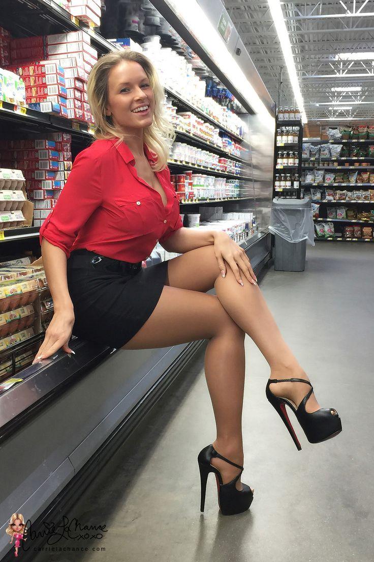 Captions porn high heel