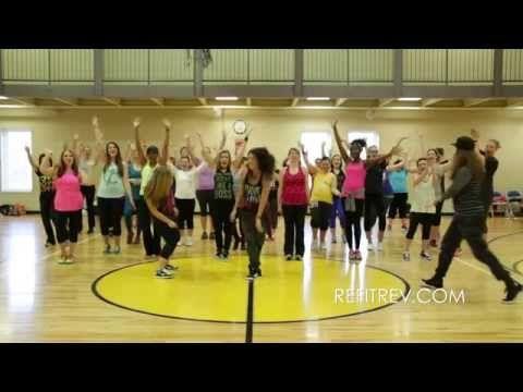 "TobyMac ""Feelin So Fly"" Dance Fitness Choreography by REFIT® - YouTube #refitrev #liverefit"