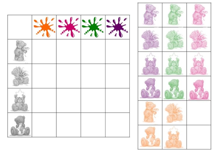(2014-07) Bamser og farver