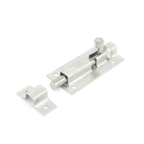 Stainless Steel Door Lock Latch Slide Barrel Bolt Clasp Set 3 Length