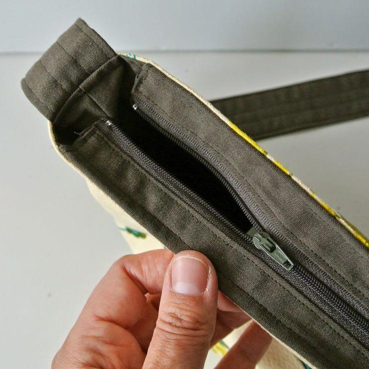 Vandaag de laatste Tutorial van deze DIY Tote Bag Week! En deze is wat ingewikkelder: je ziet hier hoe je een ritssluiting toevoegt aan ...