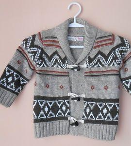 Sweterek dla modnego chłopca