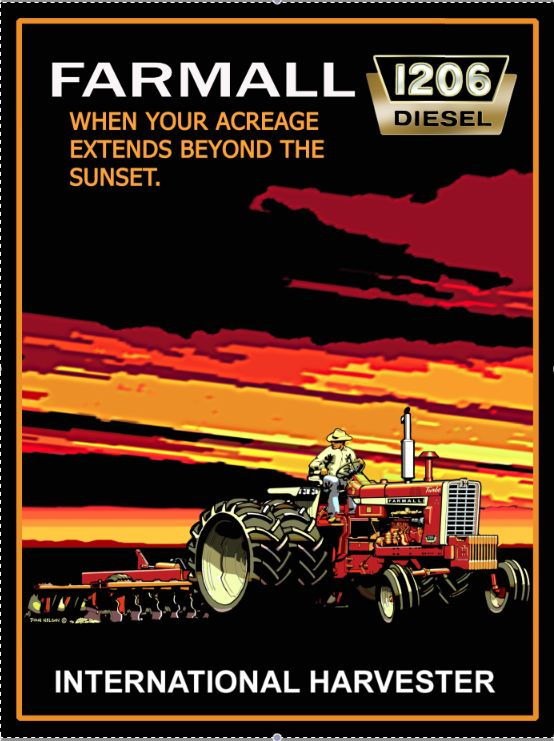 94 best signs magnets images on pinterest farm toys for International harvester room decor