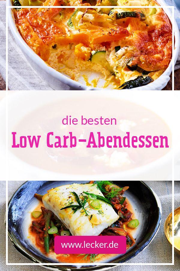 Low Carb-Abendessen – die besten Rezepte