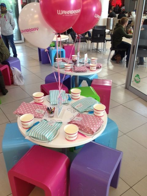 An 8th birthday was celebrated in true Waka-Style at Wakaberry Mimosa!