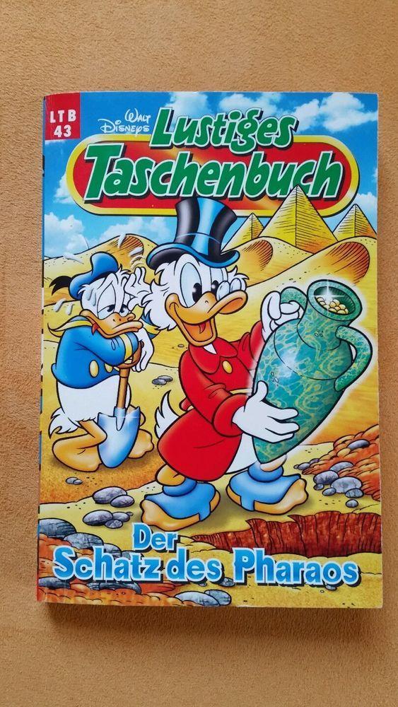 Walt Disney Lustiges Taschenbuch LTB 43 - Der Schatz des Pharaos