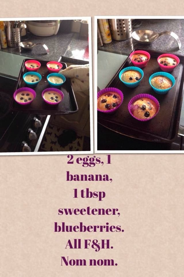 Weightwatchers filling and healthy cakes.