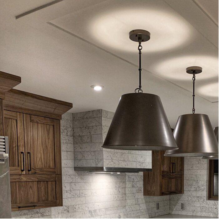 Laurel Foundry Modern Farmhouse Nadeau 1 Light Cone Pendant Reviews Wayfair Pendant Lighting Lighting Ceiling Lights