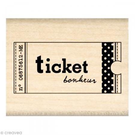 Tampon Divers - Ticket Bonheur