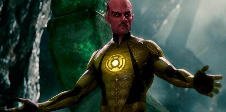 Sinistro ( Green Lantern) = Mark Strong