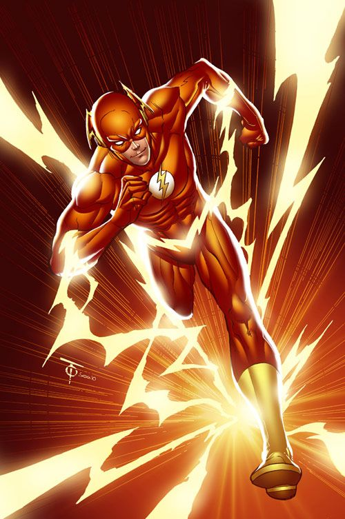 the flash comic book photos | The Flash: Comic Book Inspired Artwork | designrfix.com