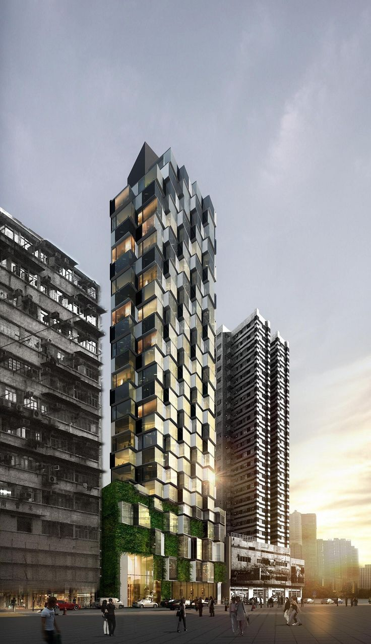 Composite Building Aedas 11 best Serviced