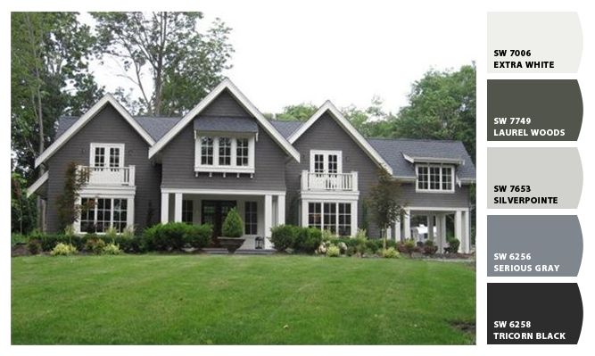 Gallery For Sherwin Williams Serious Gray Exterior