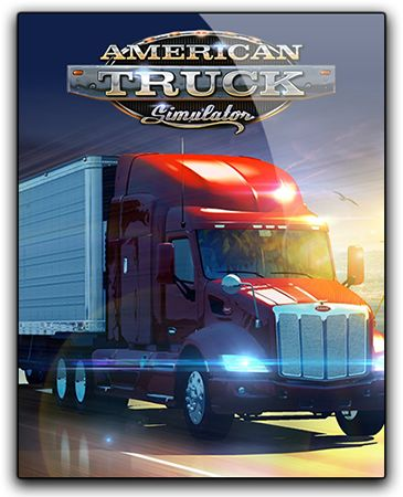 American Truck Simulator [v 1.5.2.1s + 12 DLC] (2016) PC | RePack от qoob