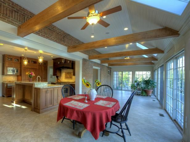 20+ Party Ready Kitchens. Sunroom ... Part 25