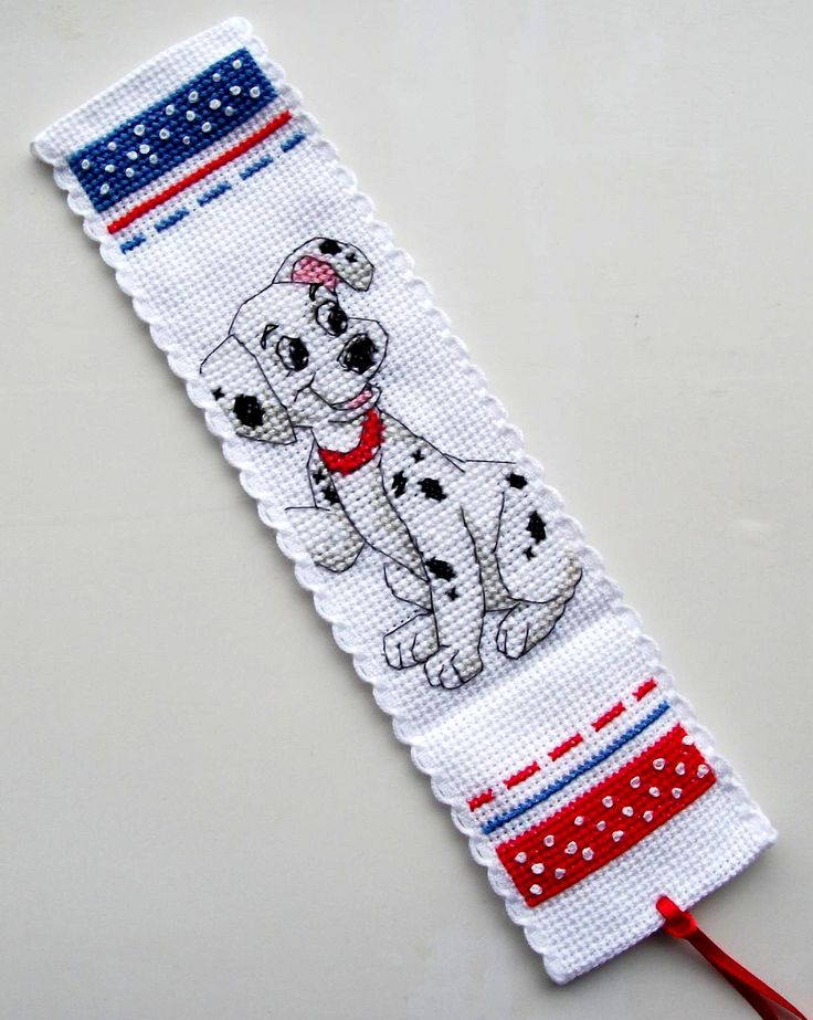 Anchor 101 Dalmations bookmark.
