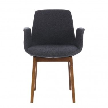 Similar to the Eames Organic design this Rocchetti chair just arrived and borrows heavily from the sixties palette of grey and brown tones.