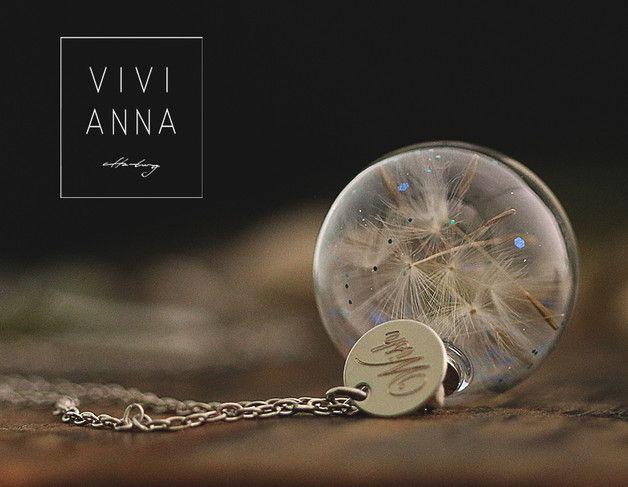 "Ketten lang - ""Wünsch Dir was"" - Kette   K396 - ein Designerstück von Viviannaschmuck bei DaWanda"