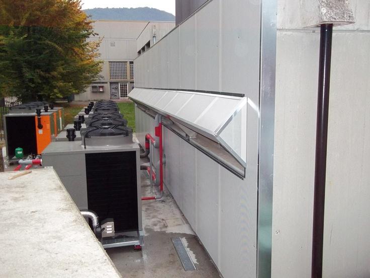 Acoustic Barrier  Panel sp.50 mm  Size - 12 x 3.5h MT