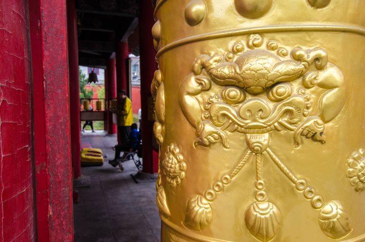 pinterest ☮ ufloot ☮ The Big Wild Goose Pagoda, the Lama Temple and Roujiamo.