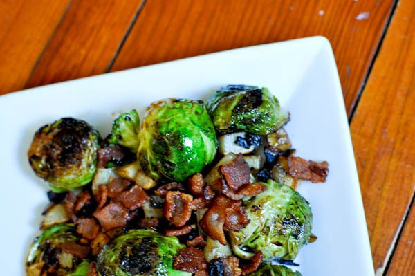 yum brussel sprouts with bacon sprouts bacon sprouts recipe roasted ...