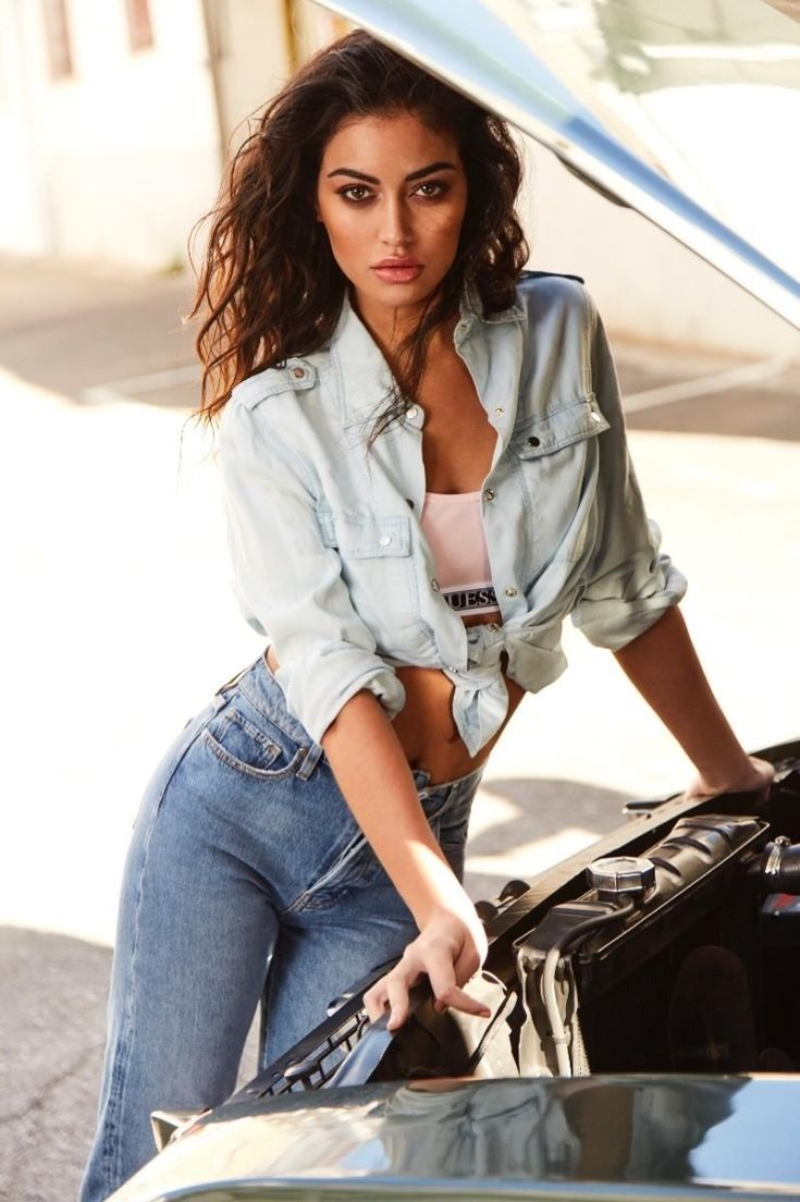 Cindy Kimberly | Guess Jeans Editorial | ELLE Spain