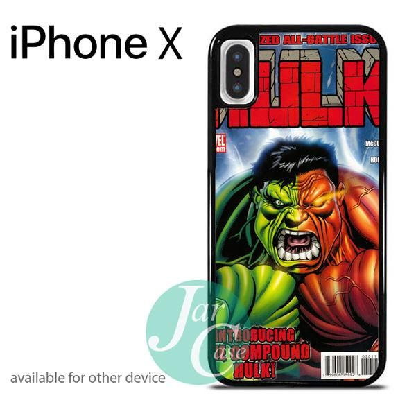 Hulk Marvel Comic Cover 7 Phone case for iPhone X
