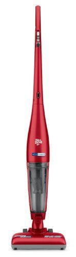 Dirt Devil Accucharge 15.6V Cordless Bagless Stick Vacuum, BD20035RED - http://www.bestvacuumcleanercentral.com/dirt-devil-accucharge-15-6v-cordless-bagless-stick-vacuum-bd20035red/