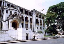 Sierra Leona -Edificio de la corte suprema en Freetown