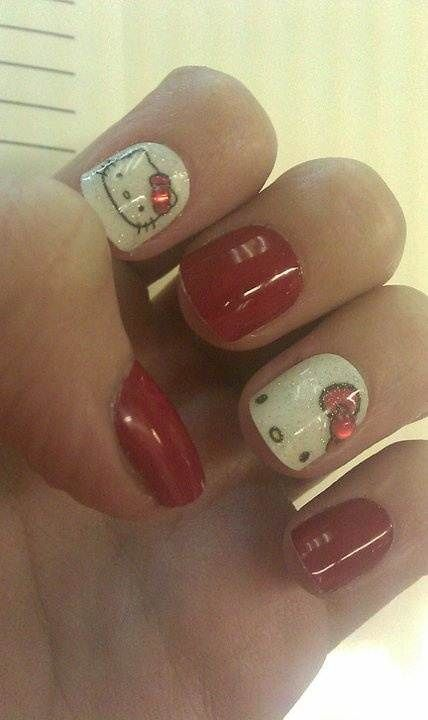 5 Hello Kitty Nail Designs I Like Most | Young Craze