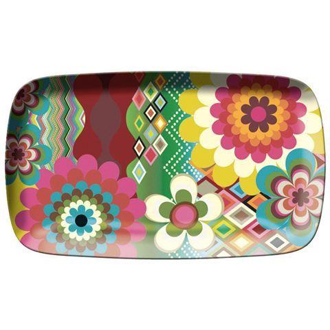 French Bull - Mosaic Rectangular Platter