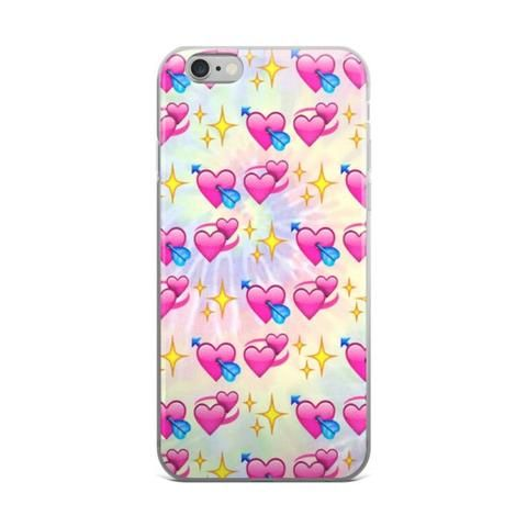 Glowing Stars Heart With Arrow Double Heart Emoji Collage Teen Cute Girly Girls Tie Dye iPhone 4 4s 5 5s 5C 6 6s 6 Plus 6s Plus 7 & 7 Plus Case - JAKKOUTTHEBXX - Glowing Stars Heart With Arrow Double Heart Emoji Collage Teen Cute Girly Girls Tie Dye iPhone 4 4s 5 5s 5C 6 6s 6 Plus 6s Plus 7 & 7 Plus Case - JAKKOU††HEBXX - JAKKOUTTHEBXX