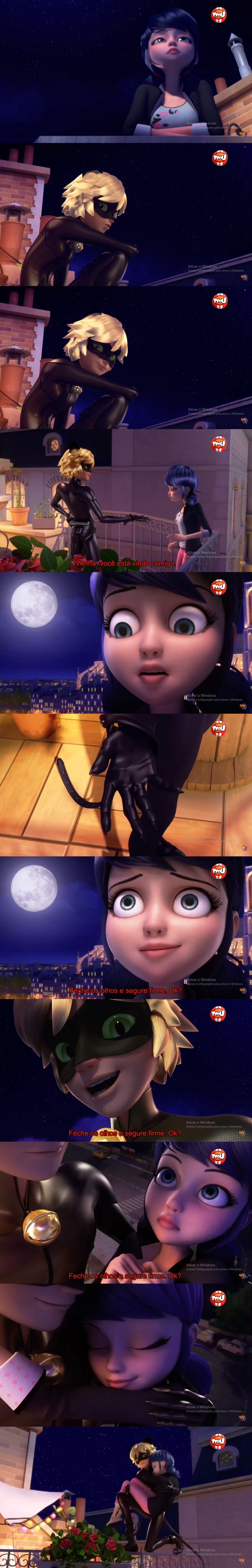 Marinette and Chat Noir - MariChat moments S2 by S02E09 - Glaciator