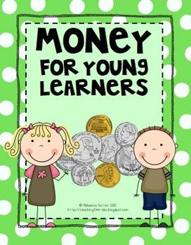 This money packet is for those early learners just gaining a grasp on coins and their values.