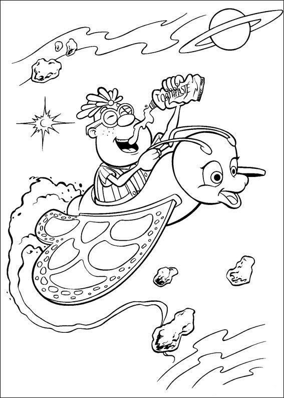 jimmy neutron 23 ausmalbilder für kinder malvorlagen zum