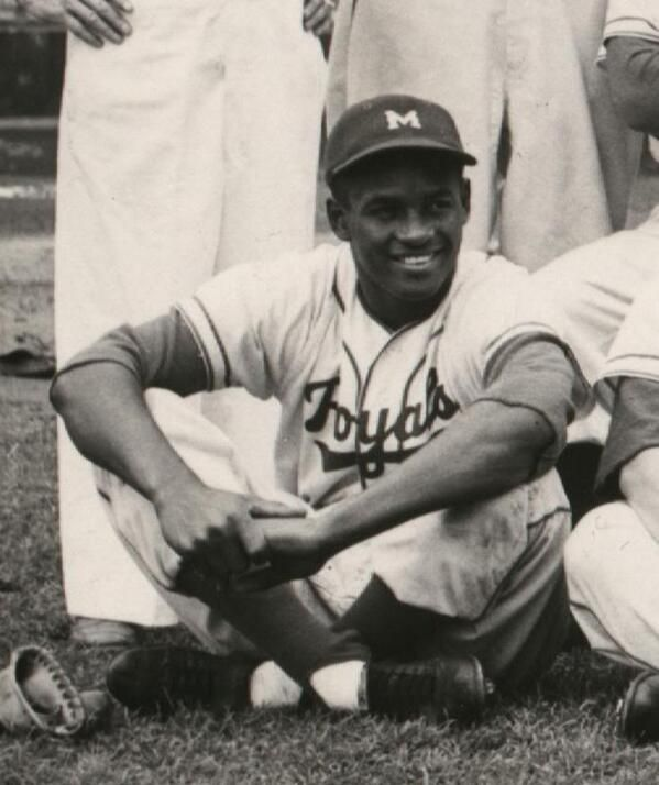 Roberto Clemente of the 1954 Montreal Royals