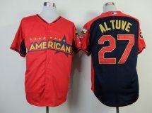 Houston Astro #27 Jose Altuve RedNavy American League 2014 All S